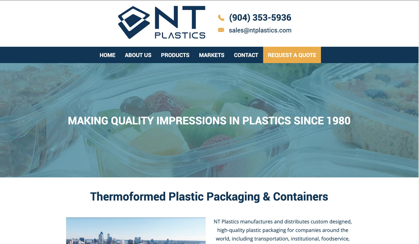 nt plastics homepage